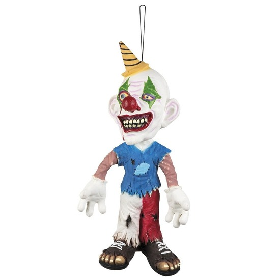 Halloween versiering horror clown pop 44 cm