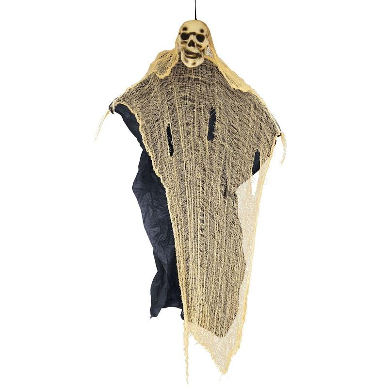 Halloween versiering spook/skelet pop 188 cm