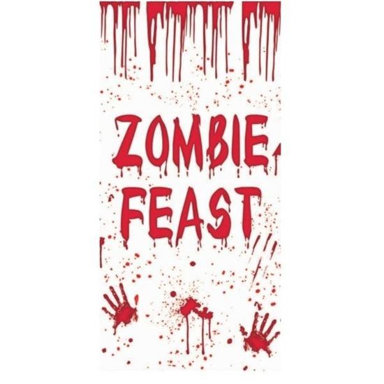 Halloween - Zombie Feast deurposter 75 x 150 cm Halloween decoratie