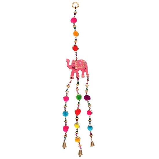 Hangertje - dromenvanger met olifant roze