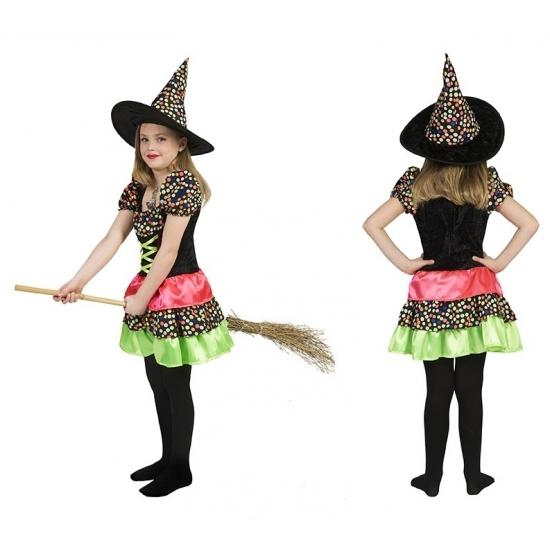 Heksen jurk voor meisjes