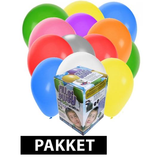 Helium tanks incl. 150 ballonnen