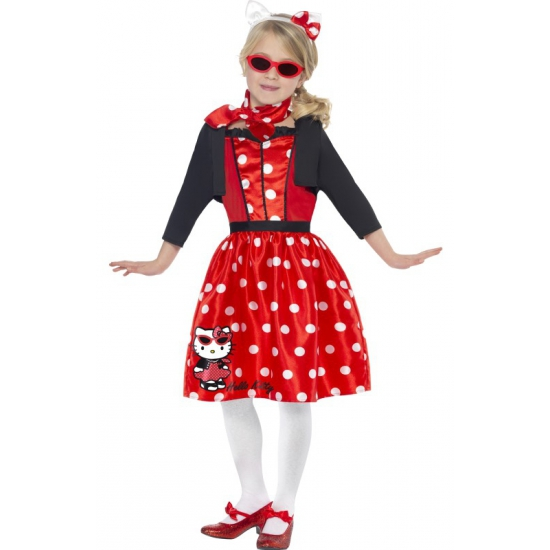 Hello Kitty retro jurkje