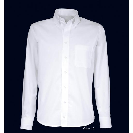 Heren overhemd button down boord