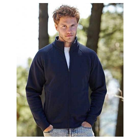 Heren sweater met rits
