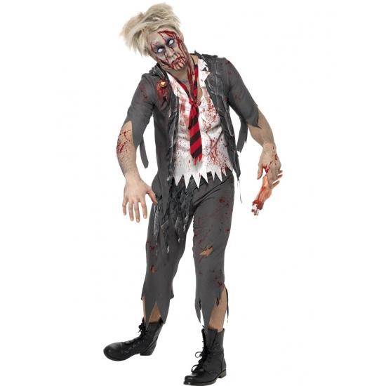 High school zombie kostuum voor heren
