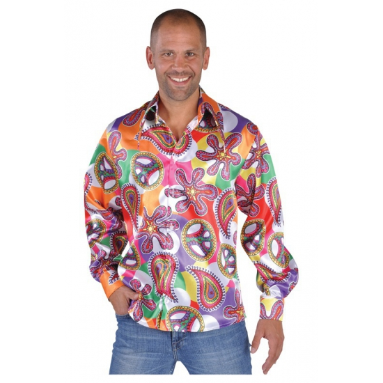 Hippie blouses heren Fun