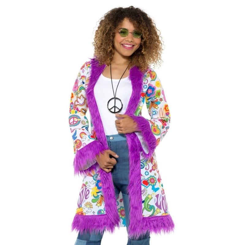 Hippie groovy jas voor dames
