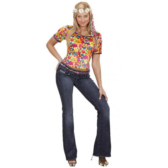 Hippie navelshirt dames