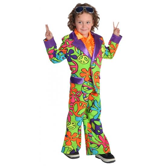 Hippie pak voor jongens 116 Multi