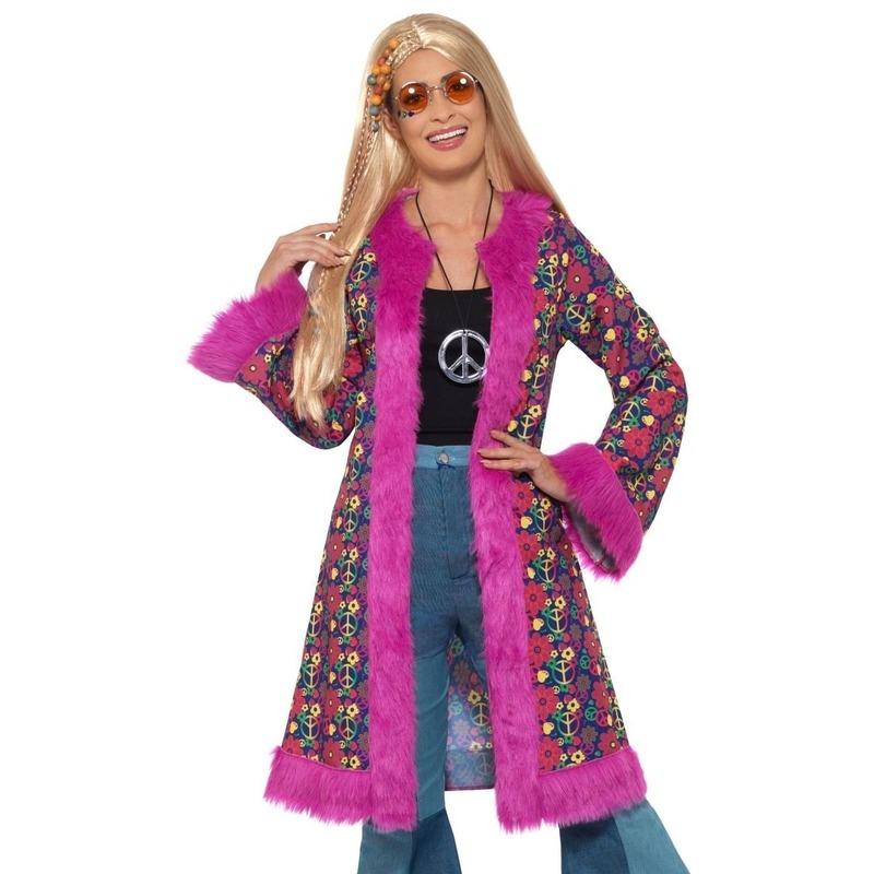 Hippie peace colbert/jas voor dames