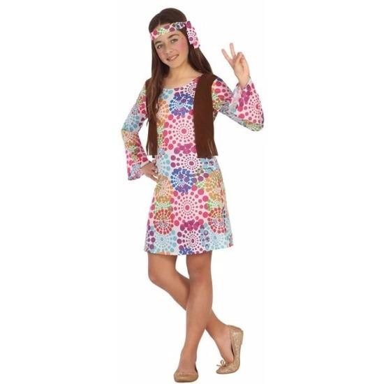 Hippie verkleedjurkje voor meisjes