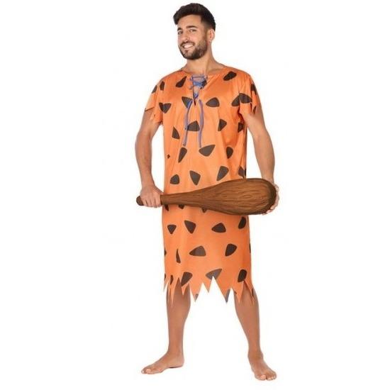 Holbewoner/caveman Fred verkleed kostuum voor heren