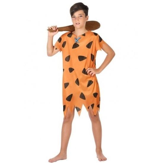 Holbewoner/caveman Fred verkleed kostuum voor jongens