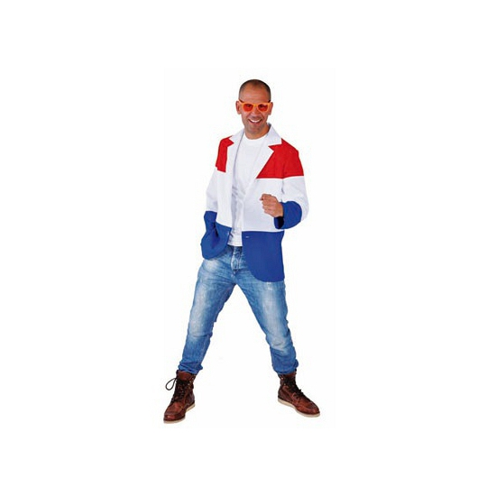 Hollandse vlag colbert