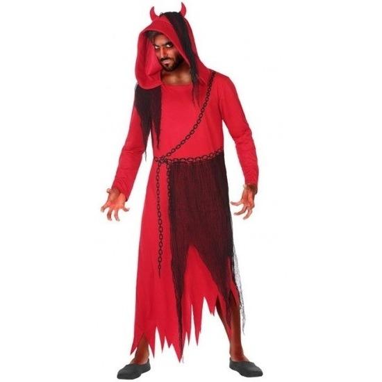 Horror duivel/kwelgeest verkleed kostuum voor heren