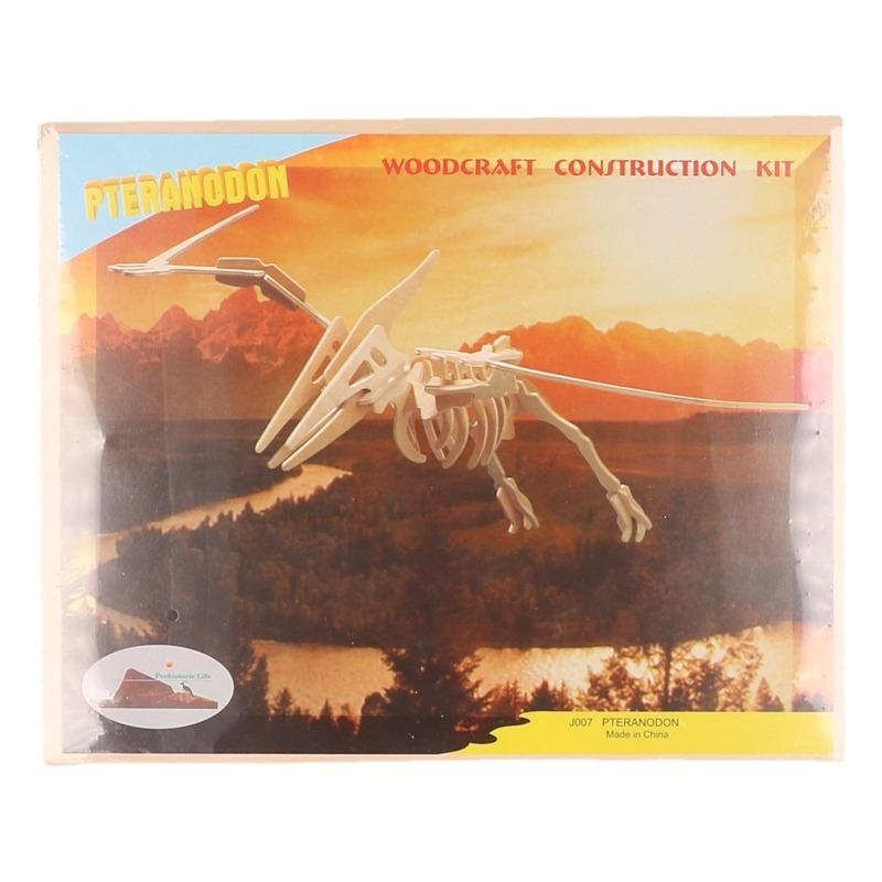 Houten bouwpakket Pteranodon Beige