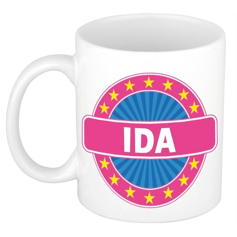 Ida naam koffie mok / beker 300 ml