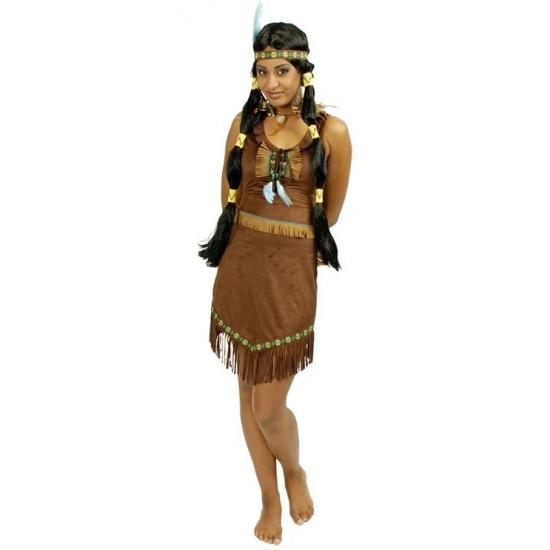 Indianen jurk Prairie voor dames