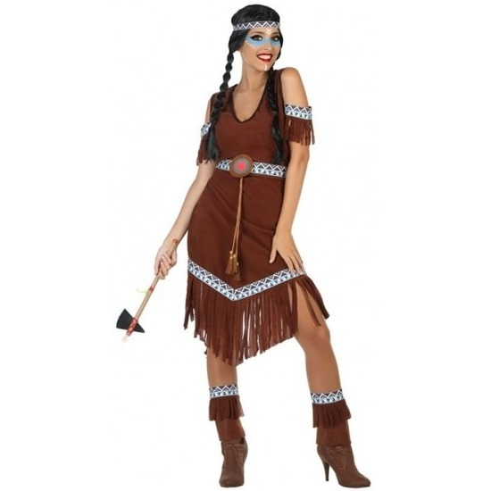 Indianen Nahele verkleed pak/kostuum voor dames