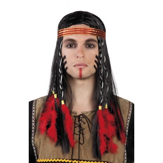 Indianenpruik Cheveyo voor heren