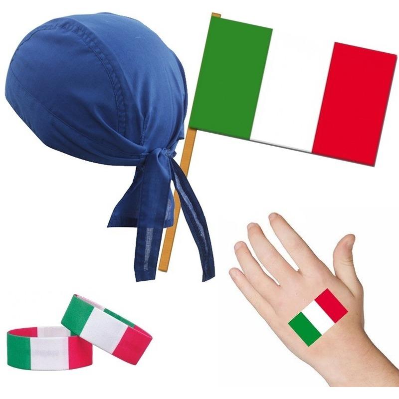 Italie/Italiaans thema verkleed set voor volwassenen