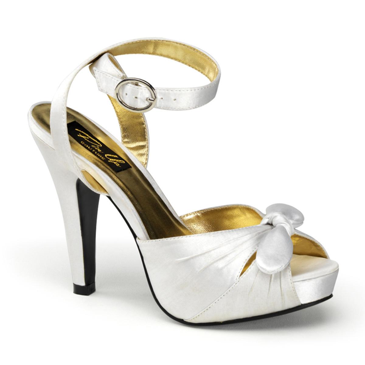 Ivoor witte sandaal pumps Marilyn