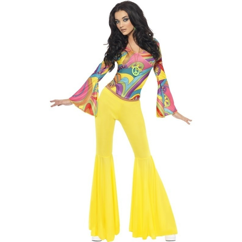 Jaren 60/70/Hippie kostuum voor dames