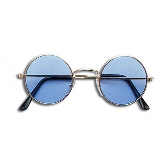 John Lennon verkleed bril blauw