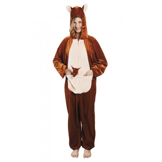 Kangoeroe dieren kostuum voor dames 180cm