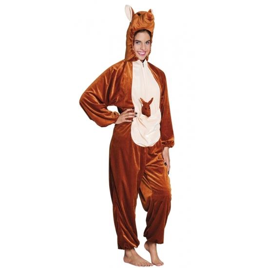Kangoeroe dieren kostuum voor kinderen