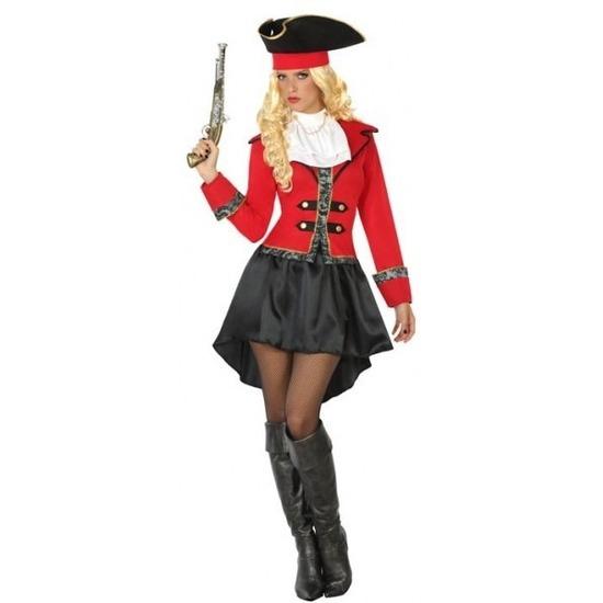 Kapitein piraat Grace verkleed pak/kostuum voor dames