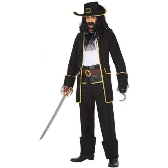 Kapitein piraat Thomas verkleed pak/kostuum voor heren