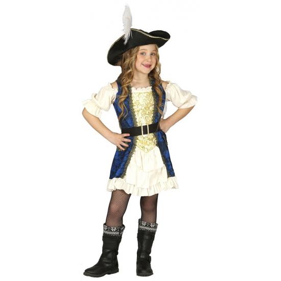 Kapiteinspak piraat voor meisjes