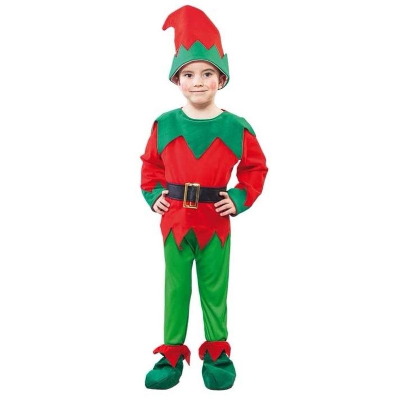 Kerst elf kostuum peuters