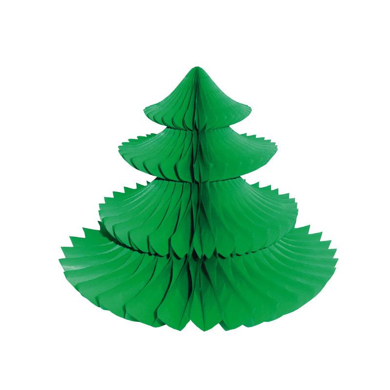 Kerstboom tafeldecoratie
