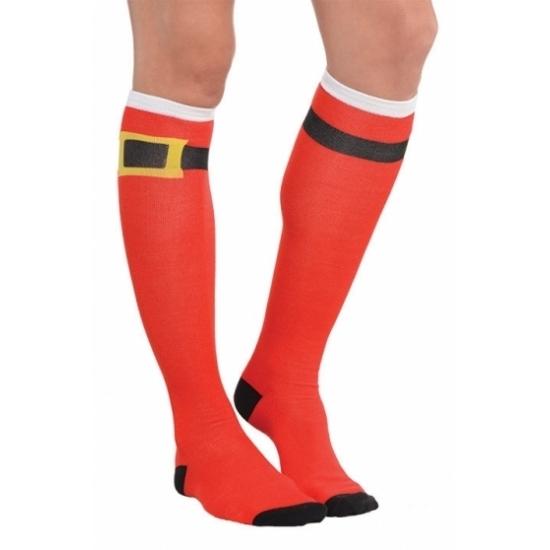 533621a3819 Kerstman sokken - Kerst kostuums accessoires - Bellatio warenhuis