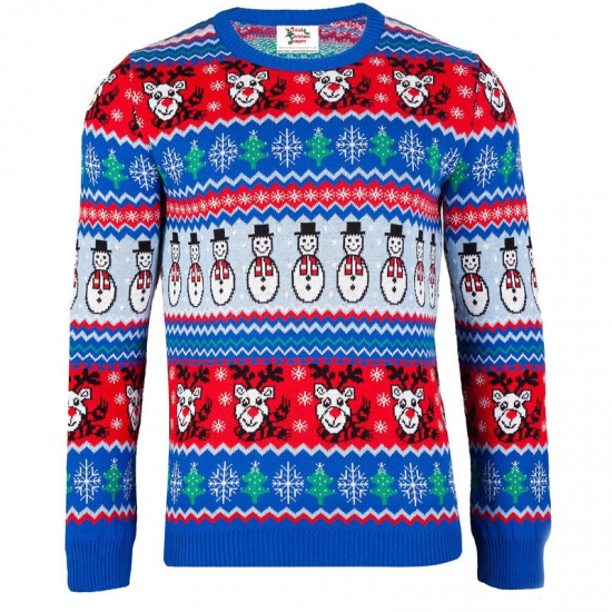 Kersttrui Comic Christmas voor dames - kerst truien