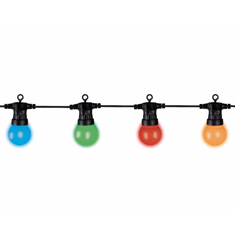 Kerstverlichting Led Bol Multikleur 9 5 Meter Boomverlichting