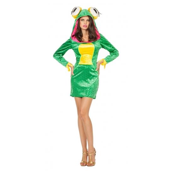 Kikker jurkje dieren kostuum