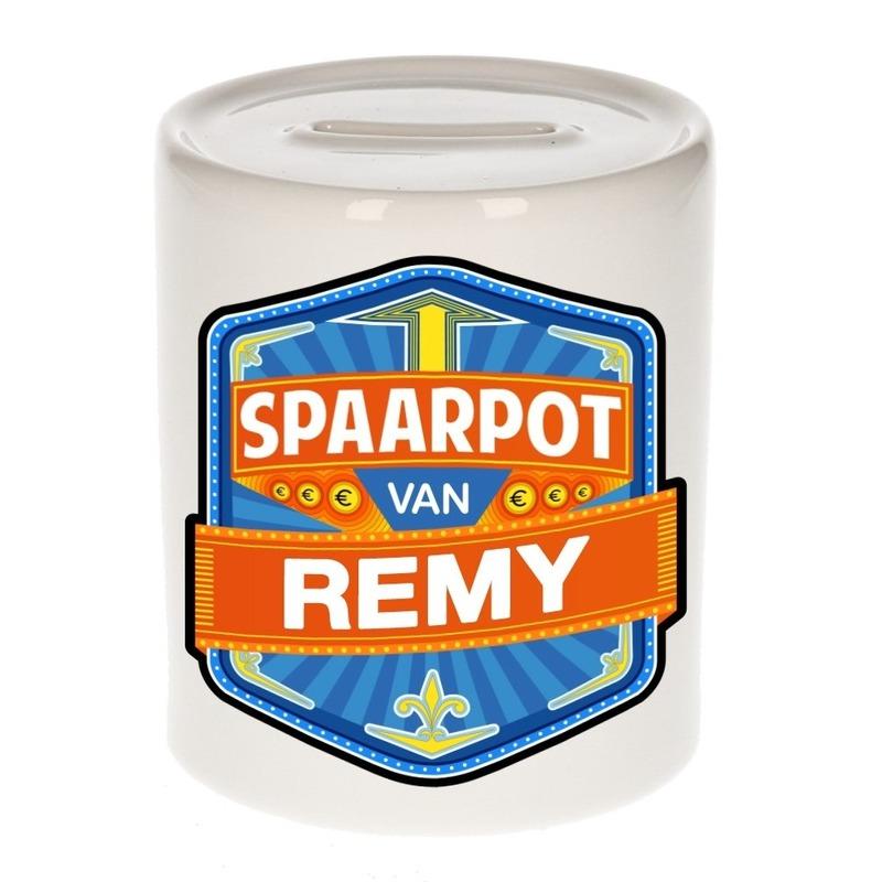 Kinder spaarpot voor Remy Multi