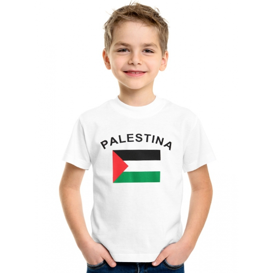 Kinder t-shirt vlag Palestina