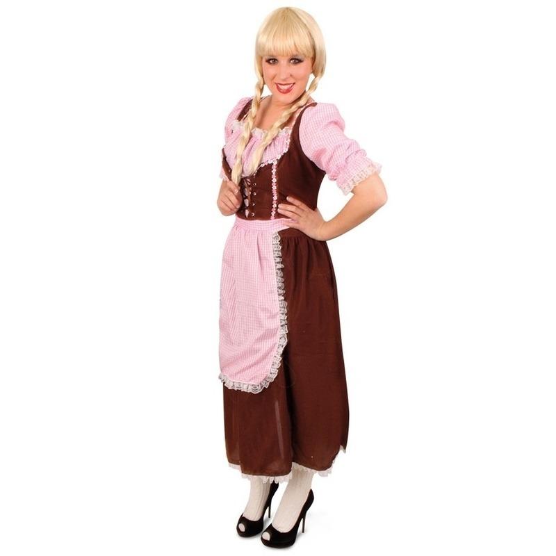 Klassieke Tirolerjurk Rosa