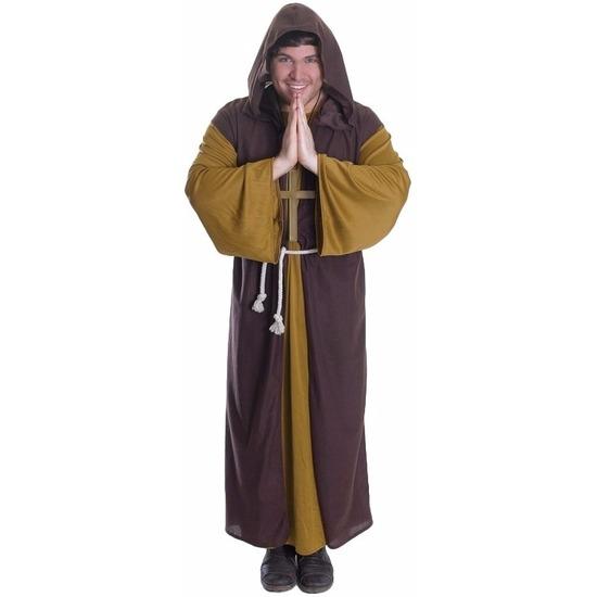 Klooster monnik kostuum voor heren