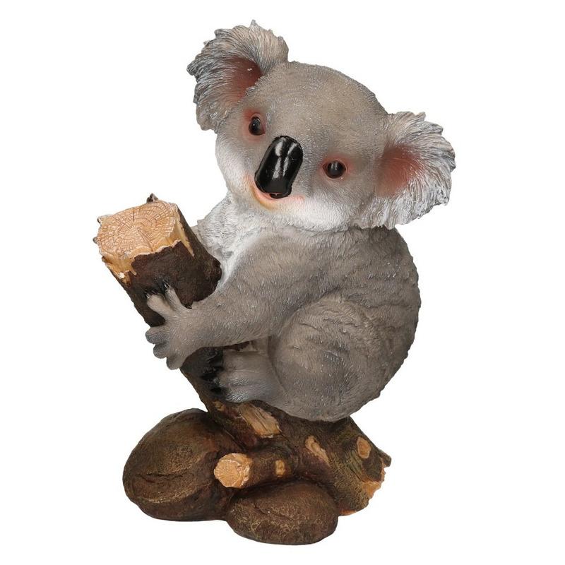 Koala dieren beeld woondecoratie 32 x 21 x 46 cm