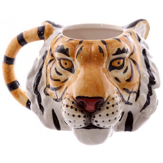 Koffie mok tijger
