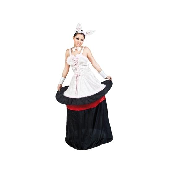 Konijn uit hoed kostuum voor dames