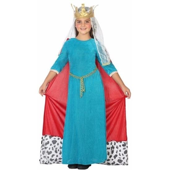 Koningin kostuum voor meisjes