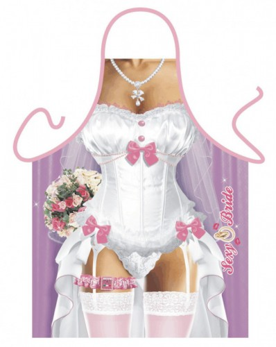 Kookschort Sexy Bruid -