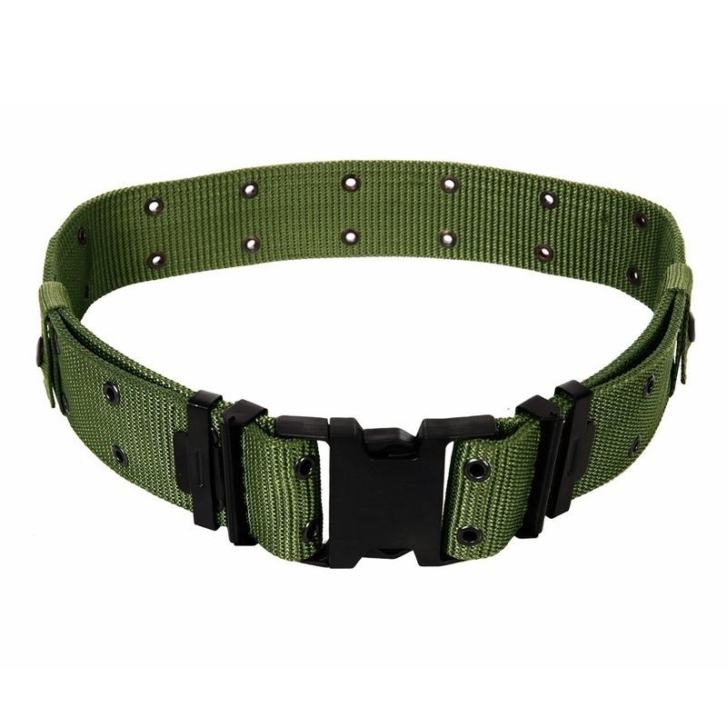 Koppelriemen Army groen